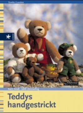 Teddys handgestrickt