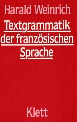 Textgrammatik der französischen Sprache
