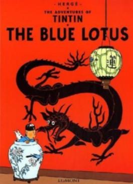 The Blue Lotus. Der blaue Lotos, englische Ausgabe