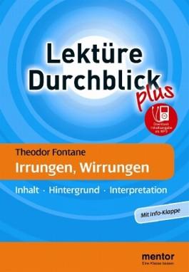 Theodor Fontane: Irrungen, Wirrungen - Buch mit Info-Klappe