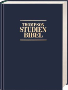 Thompson Studienbibel, Kunstleder blau