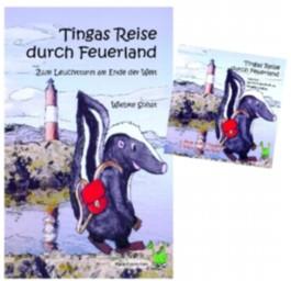 Tingas Reise durch Feuerland, m. CD-Audio