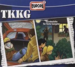 TKKG 2er Box - Vergebliche Suche nach Gaby; Stundenlohn für flotte Gangster, 2 Audio-CDs