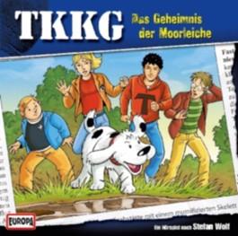 TKKG - Das Geheimnis der Moorleiche, 1 Audio-CD