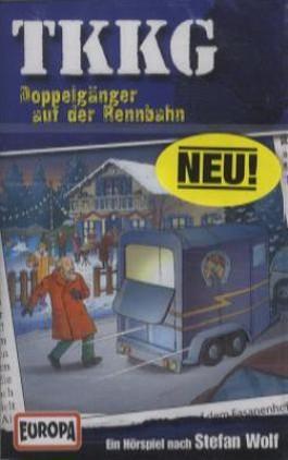 TKKG - Doppelgänger auf der Rennbahn, 1 Cassette