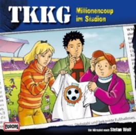 TKKG - Millionencoup im Stadion, 1 Audio-CD