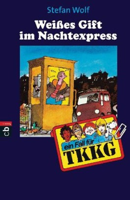 TKKG - Weisses Gift im Nachtexpress
