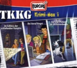 TKKG Krimi-Box 1, Folgen 117, 120 u. 133, 3 Audio-CDs