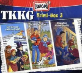 TKKG Krimi-Box 3, Folgen 160, 162 u. 164, 3 Audio-CDs