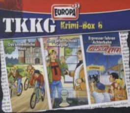 TKKG Krimi-Box 6, Folgen 143, 149 u. 156, 3 Audio-CDs.