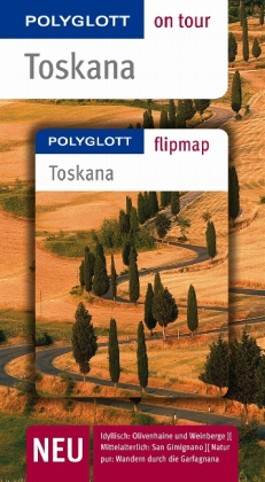 Toskana - Buch mit flipmap