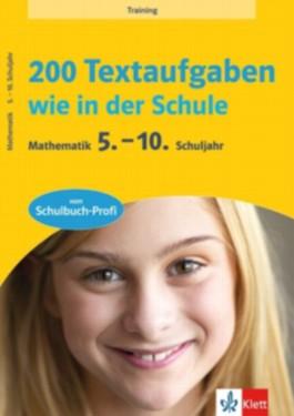 Training 200 Textaufgaben wie in der Schule
