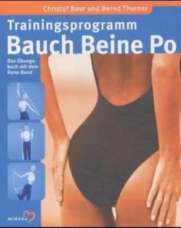 Trainingsprogramm Bauch, Beine, Po, m. Dyna-Band (rosa)