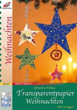 Transparentpapier Weihnachten