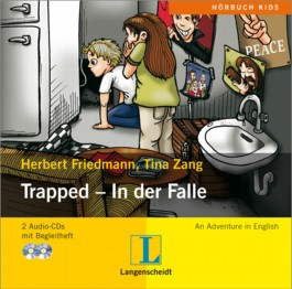 Trapped - In der Falle - Hörbuch (2 Audio-CDs + Begleitheft)