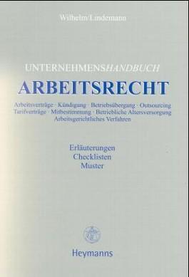 Unternehmenshandbuch Arbeitsrecht