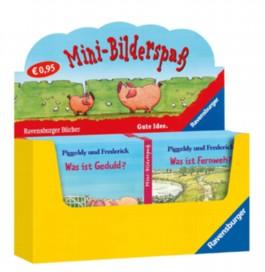 """Verkaufs-Kassette """"Ravensburger Mini-Bilderspaß 7 - Piggeldy und Frederick"""""""