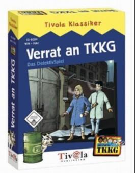 Verrat an TKKG, 1 CD-ROM in Minibox