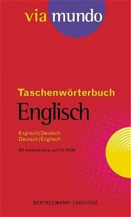 Via mundo Taschenwörterbuch Englisch, m. CD-ROM