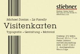 Visitenkarten - Typographie, Gestaltung, Material