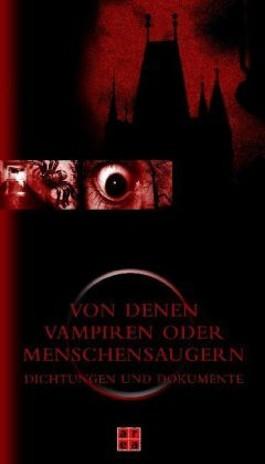 Von denen Vampiren oder Menschensaugern