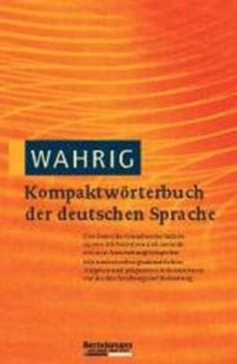 WAHRIG Kompaktwörterbuch der deutschen Sprache