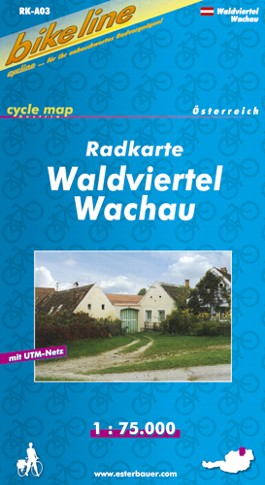 Waldviertel/Wachau Cycle Map GPS