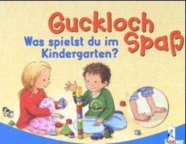 Was spielst du im Kindergarten?