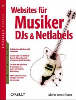 Websites für Musiker, DJs und Netlabels