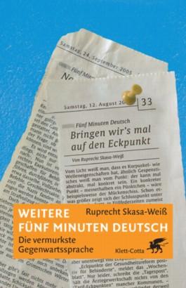 Weitere fünf Minuten Deutsch