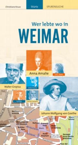 Wer lebte wo in Weimar