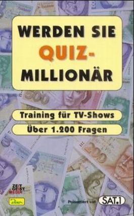 Werden Sie Quiz-Millionär - Band 1