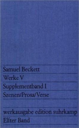 Werke 5, Supplementbd.1 (Werkausg., Bd.11)