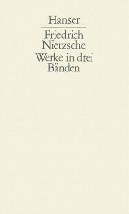 Werke in drei Bänden mit Index
