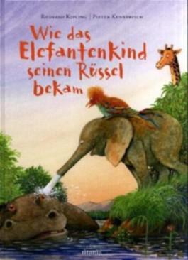 Wie das Elefantenkind seinen Rüssel bekam