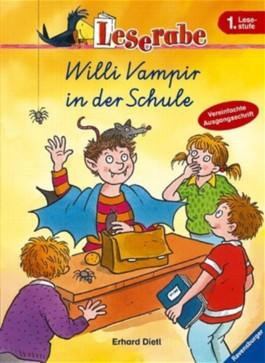 Willi Vampir in der Schule - Schreibschrift