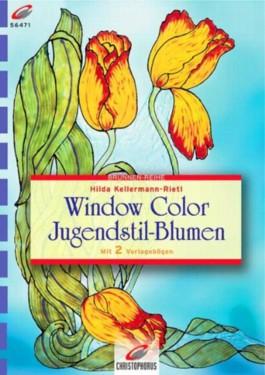 Window Color, Jugendstil-Blumen