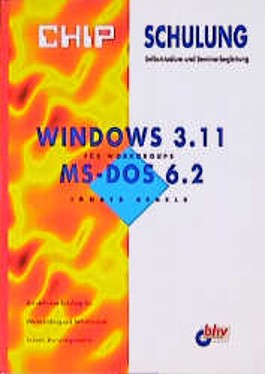 Windows 3.11 für Workgroups. MS DOS 6.2