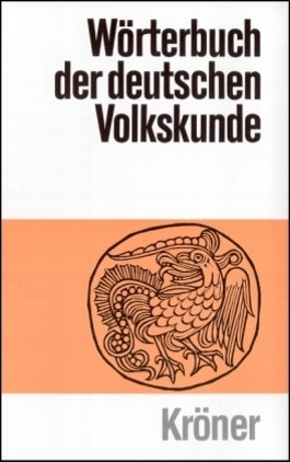 Wörterbuch der deutschen Volkskunde