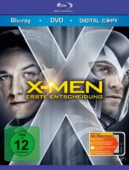 X-Men: Erste Entscheidung, 1 Blu-ray + DVD incl. Digital Copy