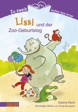 Zu zweit leichter lesen lernen, Band 5: Lissi und der Zoo-Geburtstag