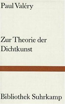 Zur Theorie der Dichtkunst