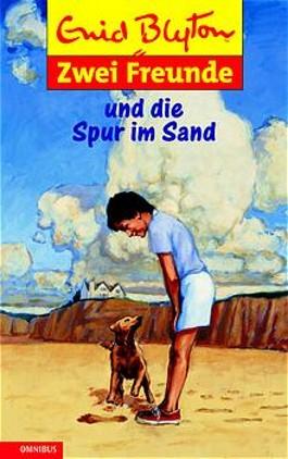 Zwei Freunde und die Spur im Sand