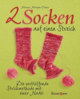 Zwei Socken auf einen Streich