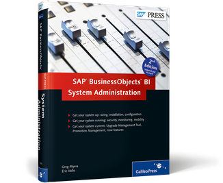 Cover of SAP BusinessObjects BI System Administration
