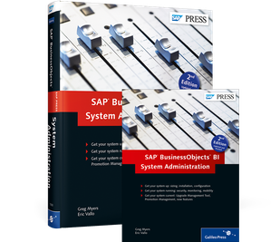 Cover von SAP BusinessObjects BI System Administration