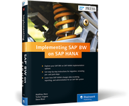 Cover of Implementing SAP BW on SAP HANA