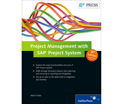 Cover of Project Management with SAP Project System
