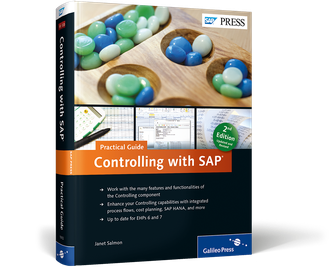 Cover von Controlling with SAP—Practical Guide