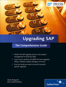Cover of Upgrading SAP